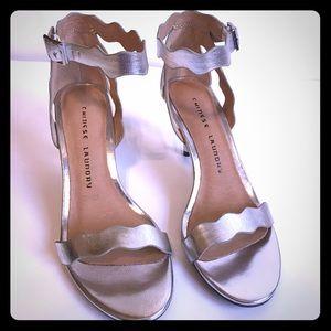 Chinese Laundry Metallic Silver Heels -Never Worn!